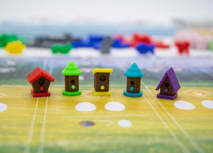 Wingspan Birdhouse Custom Action Cubes Resources 3D Printed