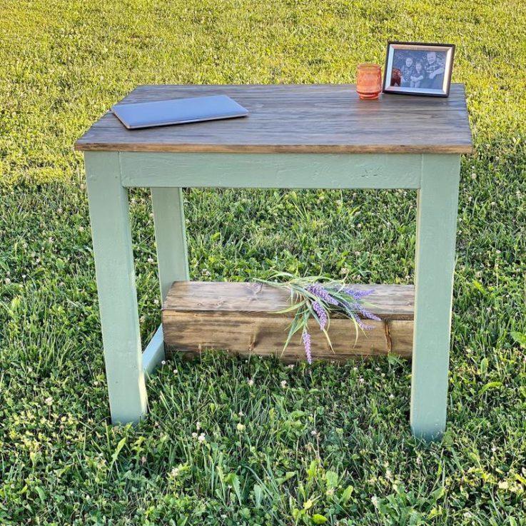 Work desk, kids desk, computer desk, distressed wood