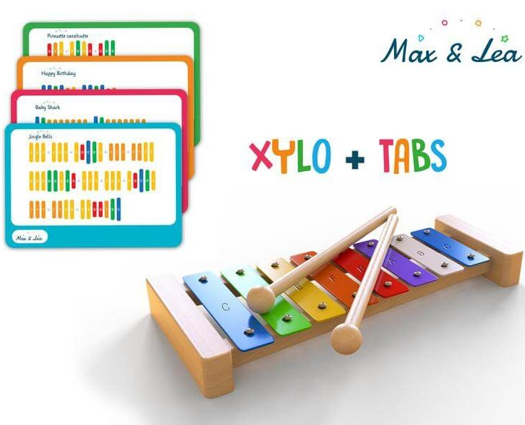 Xylophone Rainbow Xylophone - Baby Toy - Children's Music Maker - Musical Toy - Colourful Xylophone - Music Player