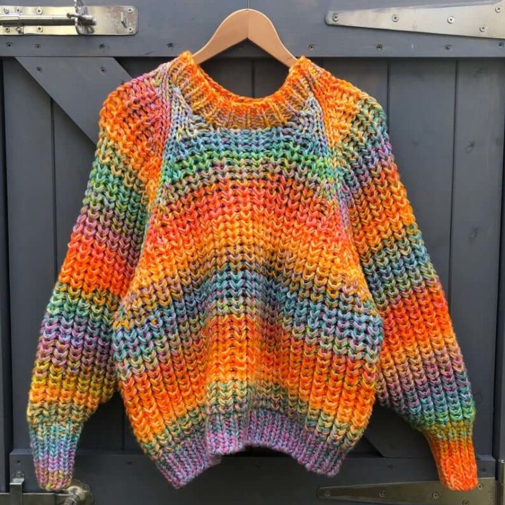 Hand Knitting Pattern - The Mercury Jumper