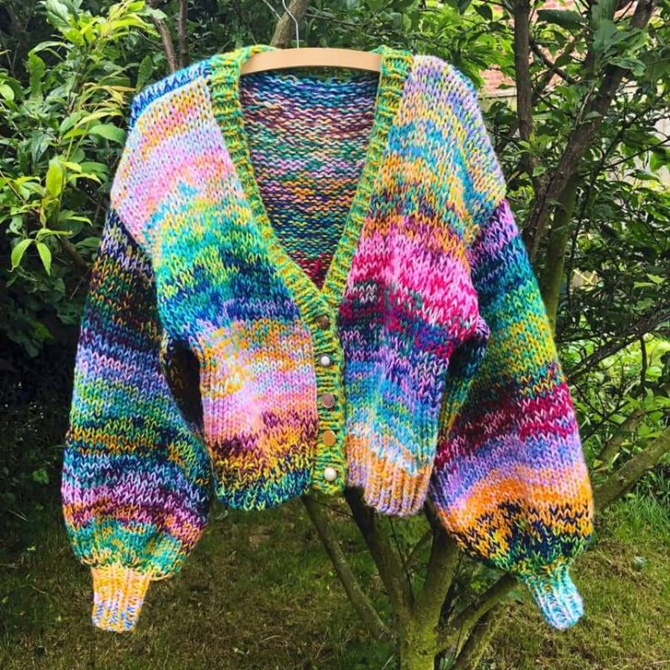 Hand Knitting Pattern - The Venus Cardigan