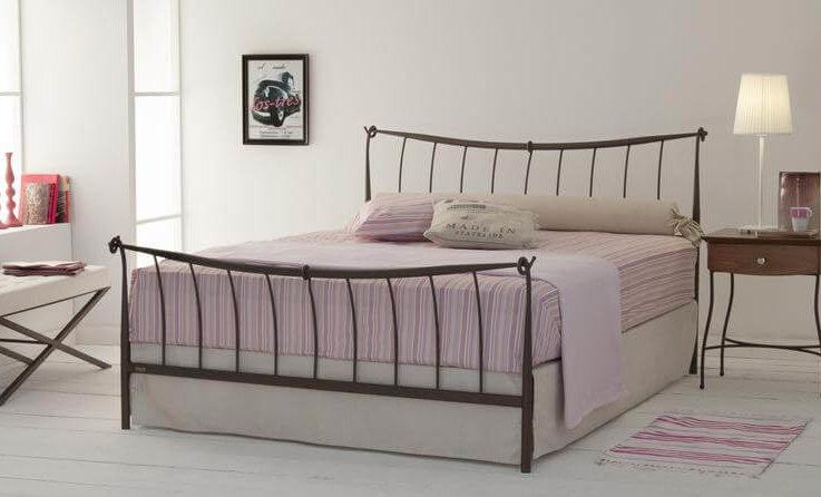 High-end design Handmade iron bed - Model Alexandra