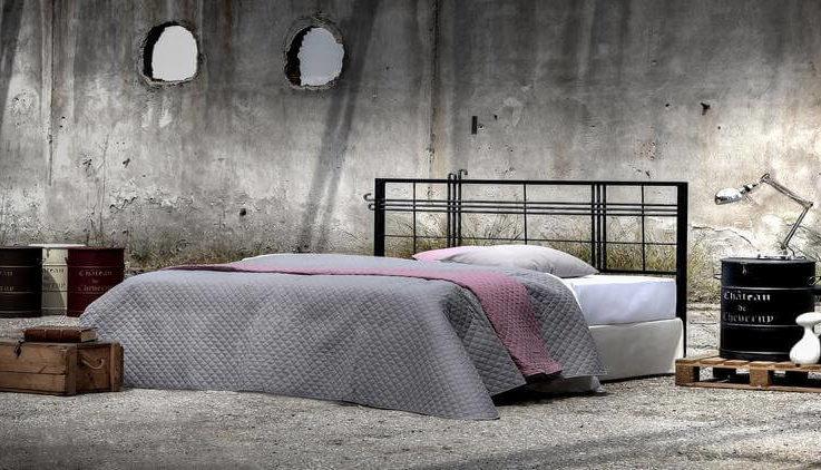 Industrial design Handmade iron bed - Model Pandora
