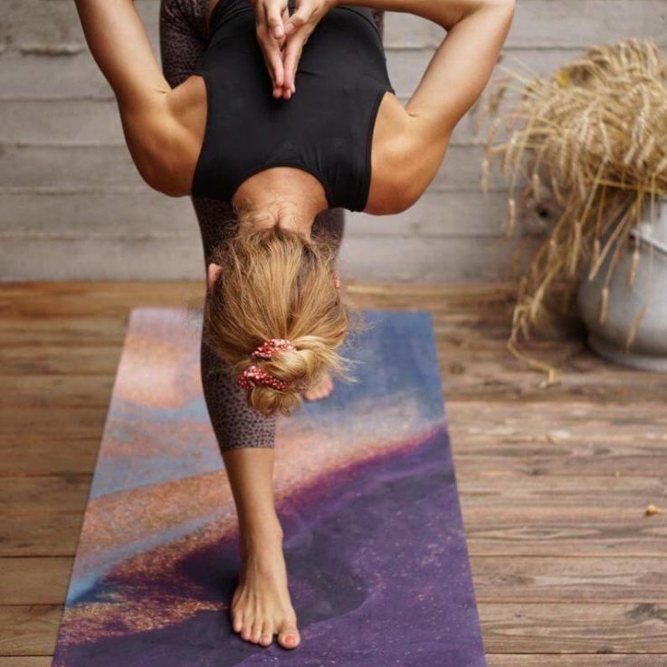 Mala HYBRID yoga mat Auryn