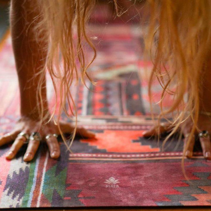 Mala HYBRID yoga mat Marrakesh