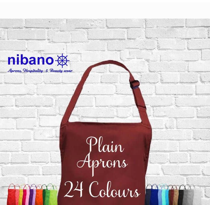 Plain Bib Apron,Nibano Professional Hospitality Aprons,Chef wear,Restaurant uniform,Aprons withwithout pockets