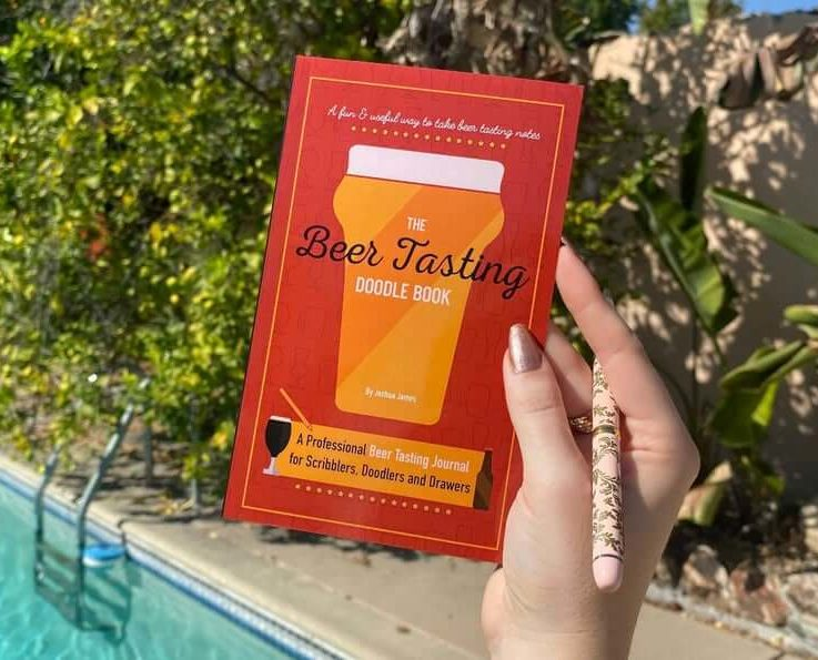 The Beer Tasting Doodle Book