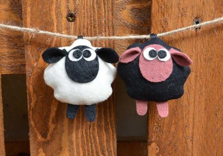 sheep (key ring, gift ideas)