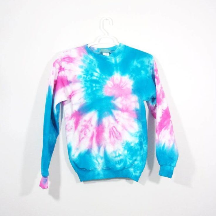 Tie Dye Hoodie Zipper Hoodie Pullover Hoodless Sweater Sweatshirt Options Spiral S M L XL 2XL 3XL Heavyweight