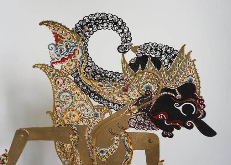 Big Shadow Puppet Indonesia, Puppet Wayang Kulit
