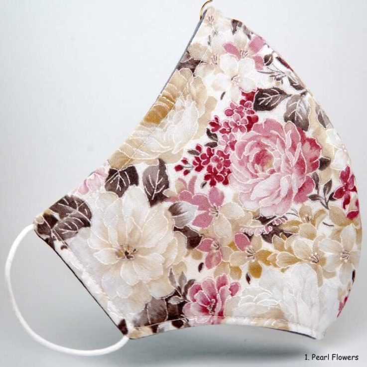 Floral Face Mask (100% COTTON)