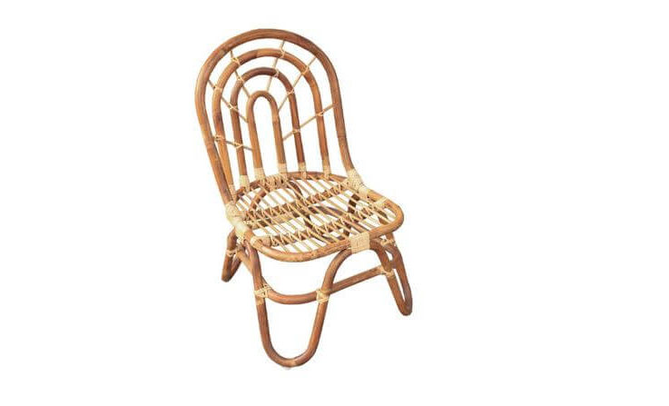 Handmade Childrens Rattan Small Chair for Childrens Room, Living Room or Nursery Furniture, Matching Bench and Table available