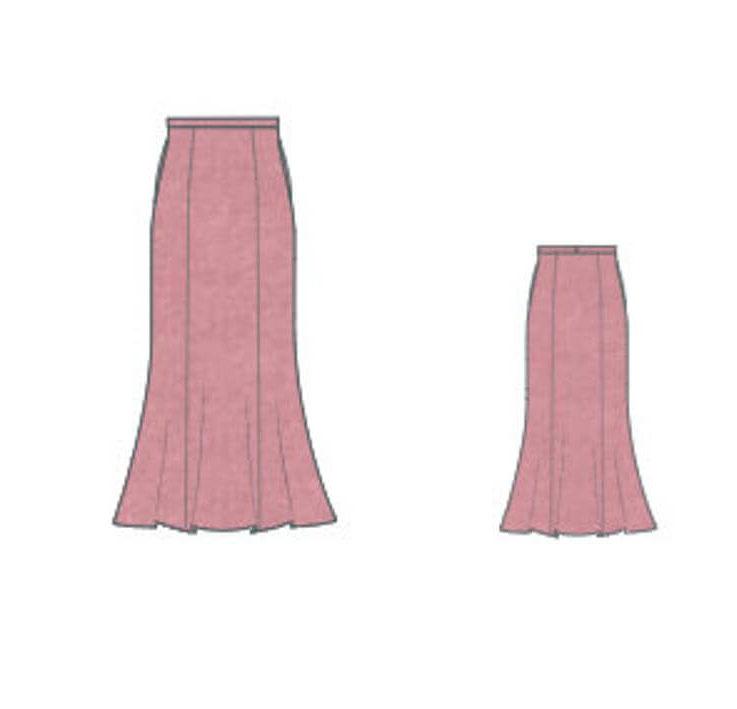 Party Skirt, Casual Skirt, Church Skirt, Tea Length Skirt, Sexy Skirt, Lovely Skirt, Skirt Pattern, Designer Skirt, Business Skirt