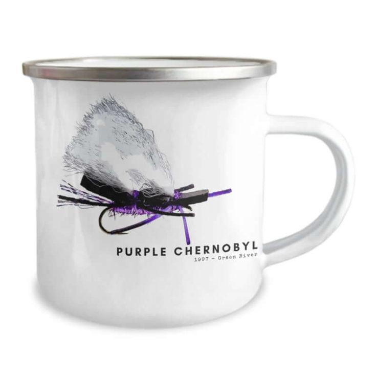 Purple Chernobyl Camping Mug